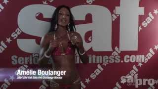 Amélie Boulanger 2014 SAF Fall Spectacular Interview