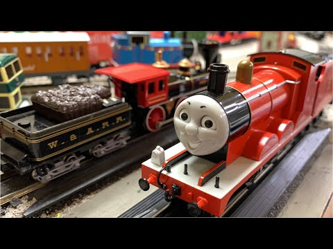James vs & The General & – Great Locomotive Chase – Bachmann Trains – Gordon, Edward