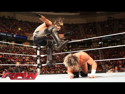 Thumbnail: Dolph Ziggler vs. Seth Rollins: Raw, April 20, 2015