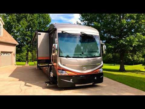 2018 AMERICAN COACH DREAM SE 40J CLASS A DIESEL RV BUNK BEDS V RIDE CUMMINS FULL SLIDE FOR SALE