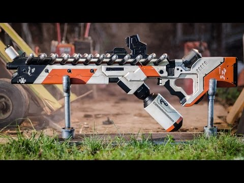 Making a District 9 Alien Assault Rifle Prop Replica