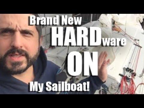 Sailboat Restoration - New Hardware