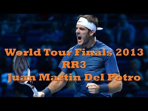 World Tour Finals 2013 RR3 - Federer vs Del Potro (Extended Highlights)