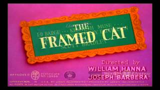 The Framed Cat (1950) - recreation titles (Reloaded)