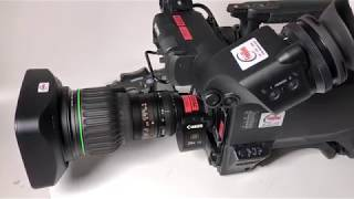 Canon 4K Broadcast ENG Lens and Sony HDC 4300 4K Broadcast Camera