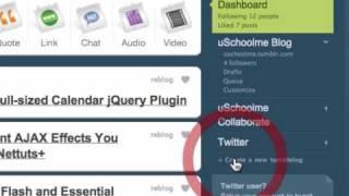 Learn Tumblr Ep13: Creating Private Tumblelogs ( Blogs ) @ uSchoolme