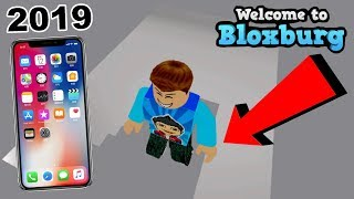 MISE À JOUR 2019!!! COMMENT À ADD STAIRS IN BLOXBURG FROM MOBILE PHONE (fr) ROBLOX TUTORIAL - France JEU FAMBAM