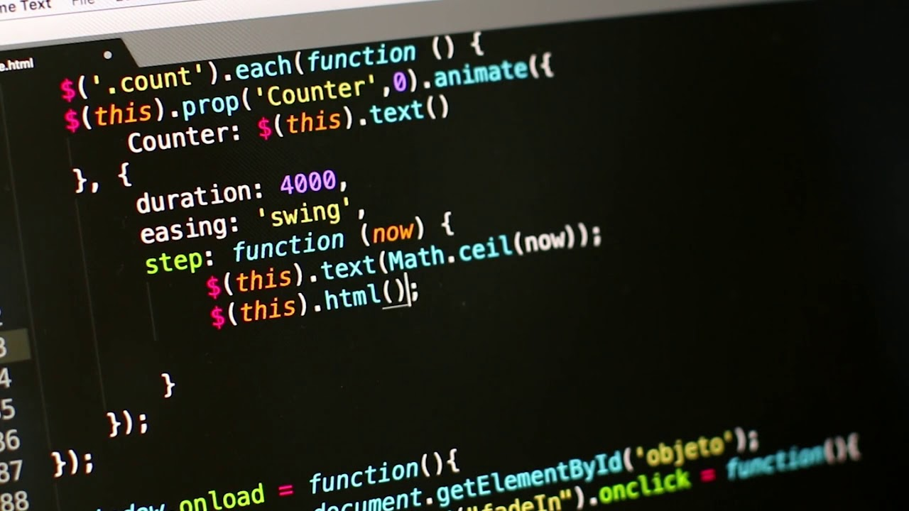 Coding Background Video Hd Youtube