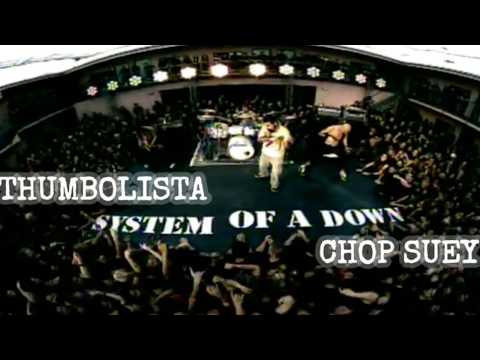 CHOP SUEY by System Of A Down - Thumbolista Real Drum App Cover