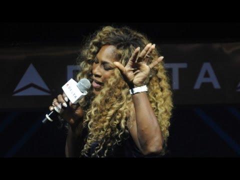 Serena Williams, Karaoke queen gears up for Grand Slam