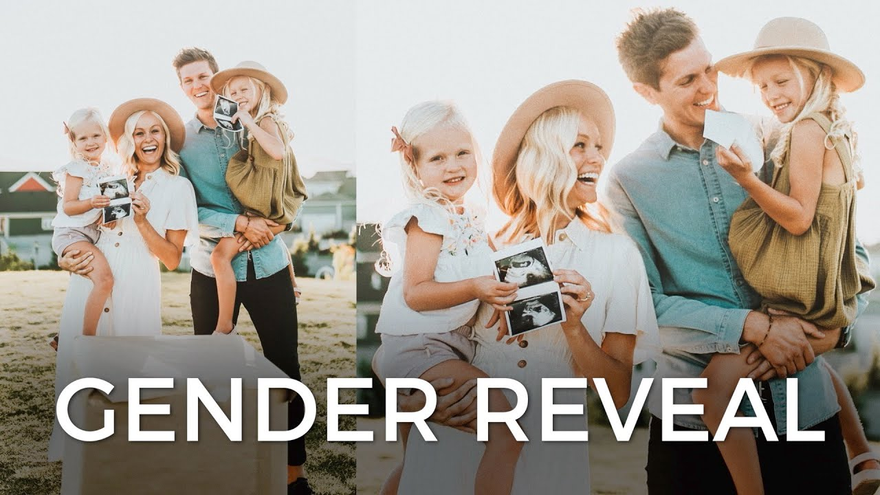 GENDER REVEAL: What's it going to be!?