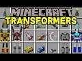 Minecraft TRANSFORMERS MOD! | BECOME OPTIMUS PRIME, JETS, CARS, & MORE! | Modded Mini-Game