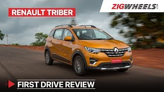 Renault Triber 7 Seater First Drive Review | Price, Features, Interior & More | ZigWheels