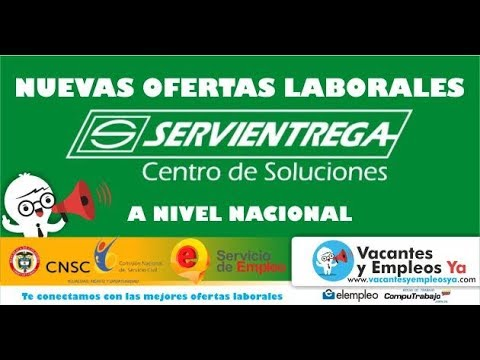 Ofertas De Empleo En Servientrega A Nivel Nacional