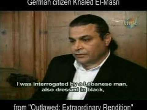 The extraordinary rendition of Khaled El-Masri
