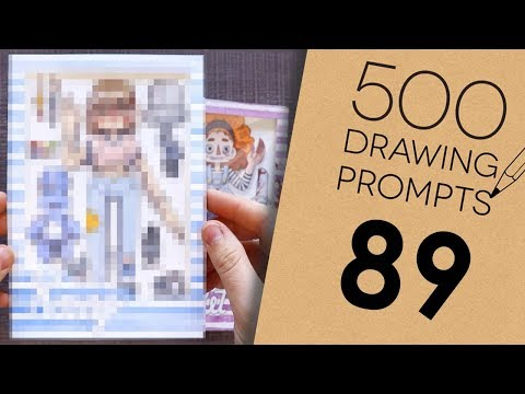 500 Prompts #89  TURNING MYSELF INTO A PACKAGED DOLL