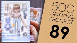 500 Prompts #89 - TURNING MYSELF INTO A PACKAGED DOLL