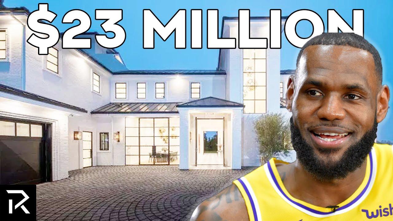 Inside LeBron James' $23 Million LA Mansion