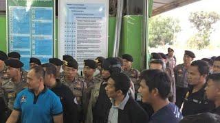 4 Tersangka Penyelundupan Sabu Dibawa ke Jakarta