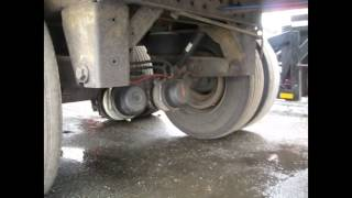 Inspection Road check and truck and trailer for depart