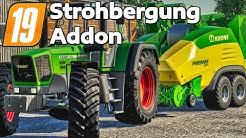 LS19 STROHBERGUNG AddOn - Alle Maschinen und Gebäude im Detail   Straw Harvest Deutsch