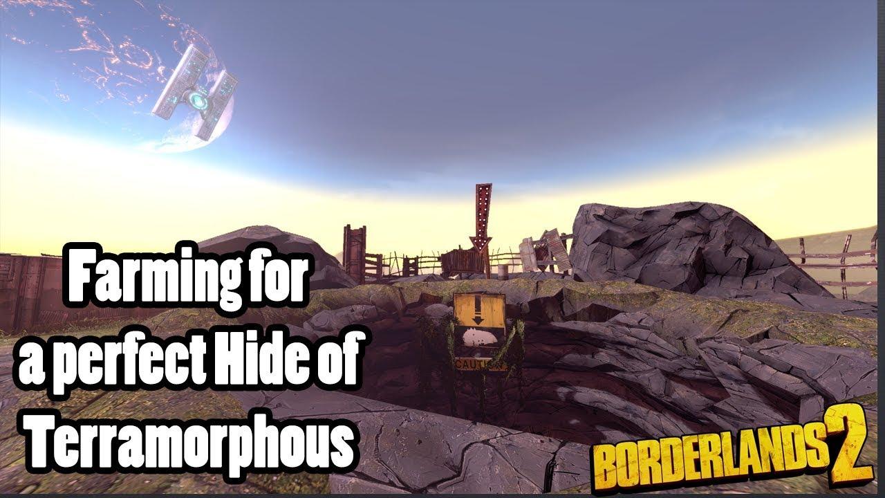 Borderlands 2: Raid Boss farming for a perfect Hide of Terramorphous