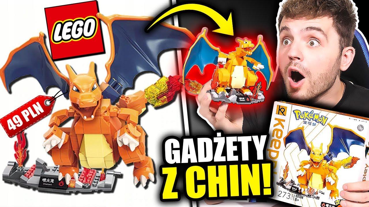 Testuje DZIWNE PODRÓBKI z CHIN! *Lego Pokemony*
