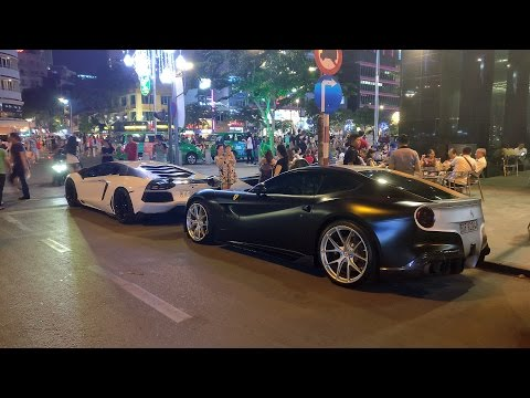 The exotic cars of Vietnam!