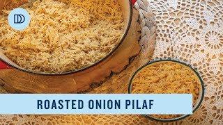Roasted Onion Pilaf