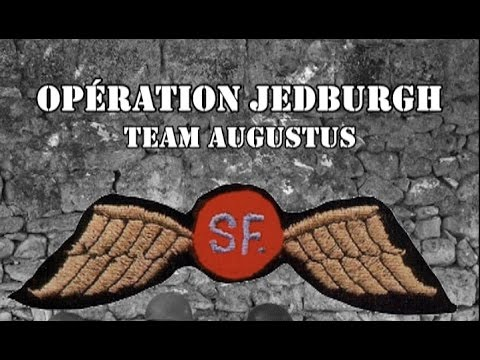 Operation Jedburgh  Team Augustus fr with en sub (WW2 Movie)