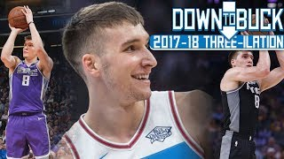 Bogdan Bogdanovic All 129 Three-Pointers Full Highlights (2017-18 Season Three-ilation)