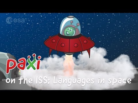 Paxi on the ISS: Languages in space