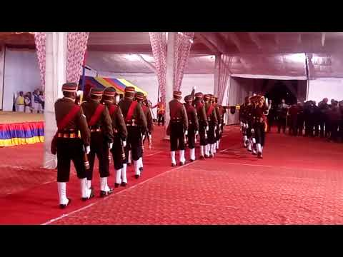 9TH DOGRA REGIMENT DRILL. Super drill of tha indian army. Training by IMA instructor Sub Rajnesh