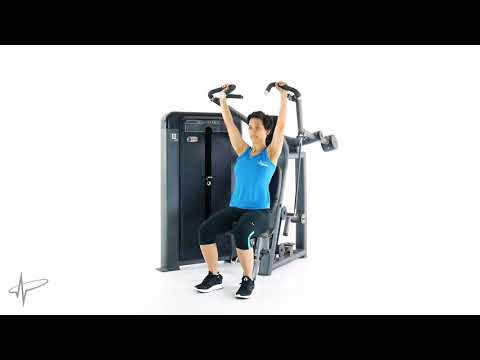 Pulse Fitness 305H Shoulder Press (Grip position 2)