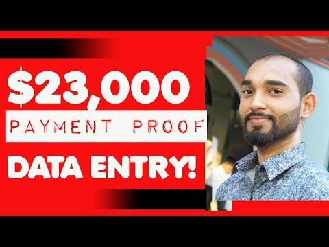 Made $23000 in 2018 by doing Easy Data Entry Jobs Online - Goals for 2019?