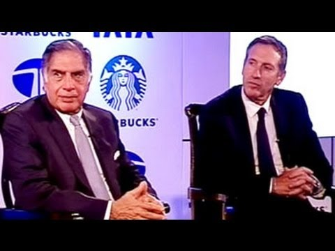 Good Business Brew: Ratan Tata, Howard Schultz on Starbucks JV