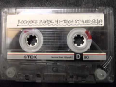TONY WILLIAMS - Rockers FM Super Hi-Tech '87 Stylee - Reggae Dancehall Roots - Radio London