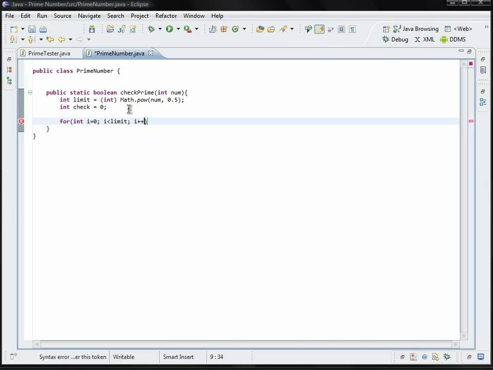 Java Program to Check Whether a Number is Prime or Not