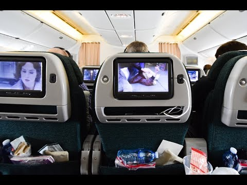 Premium Economy | Cathay Pacific CX100 Sydney To Hong Kong Boeing 777-300ER (Review #42)