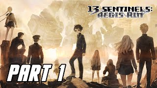 13 Sentinels: Aegis Rim - Gameplay Walkthrough Part 1 (English, No Commentary, PS4 PRO)