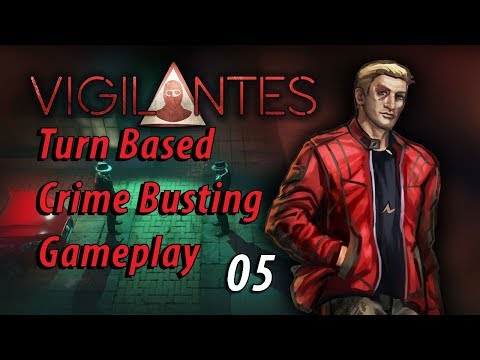 Vigilantes: Turn Based Crime Busting Gameplay 05