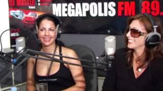 Елена Беркова и Сабрина на радио