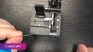 CommScope Fiber Optic Qwik II Connector Termination Video