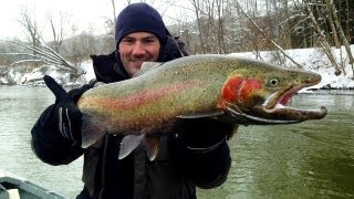 Steelhead Fishing 2013:  Bobbers & Bruisers