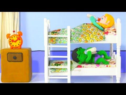 SUPERHERO BABIES ARE READY FOR MONDAY 鉂� Superhero Babies Play Doh Cartoons For Kids