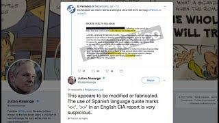"""Wikileaks se apresura en desmentir la carta """"perdida"""" de la CIA."""