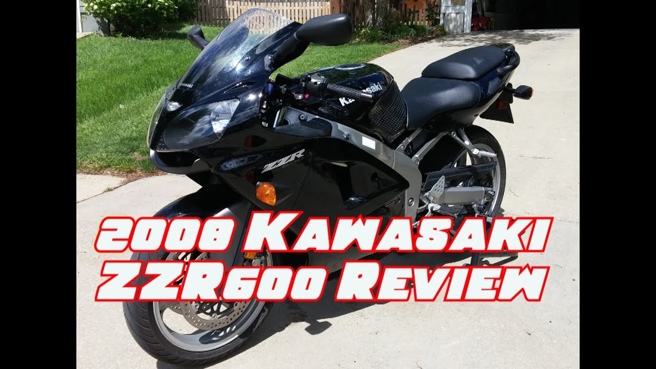 2008 Kawasaki ZZR600 Review and Walkaround - YouTube