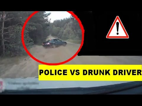 POLICE CHASE DRUNK DRIVER - LITHUANIA