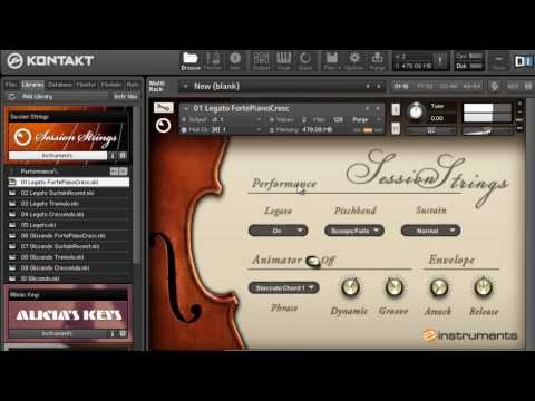 Native instruments session strings review - SoundsAndGear