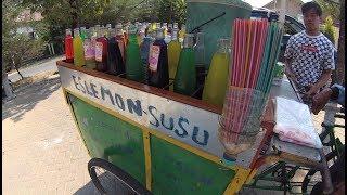 Indonesia Madura Street Food 3032 Es lemon Susu Sumenep  YDXJ0409